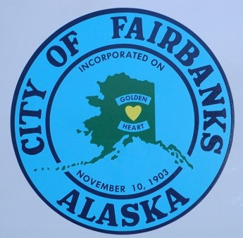 Golden Heart seal of Fairbanks